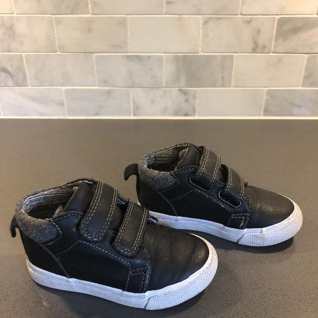5397f0d816 Find more Cat & Jack Size 6 Black High Top Sneakers for sale at up ...