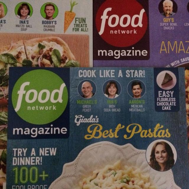 Lot 3 Food back issues magazines