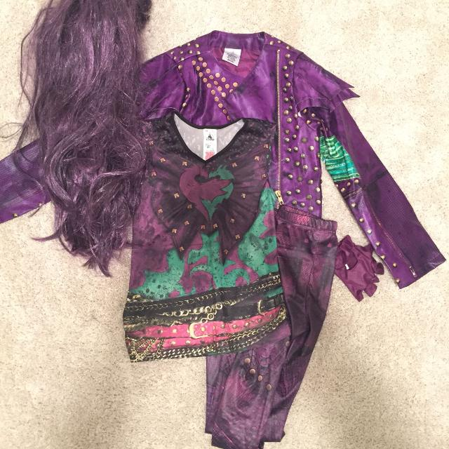 Mal Disney Descendants Costume - 7/8