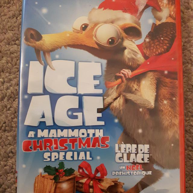 ice age mammoth christmas special dvd - Ice Age Mammoth Christmas