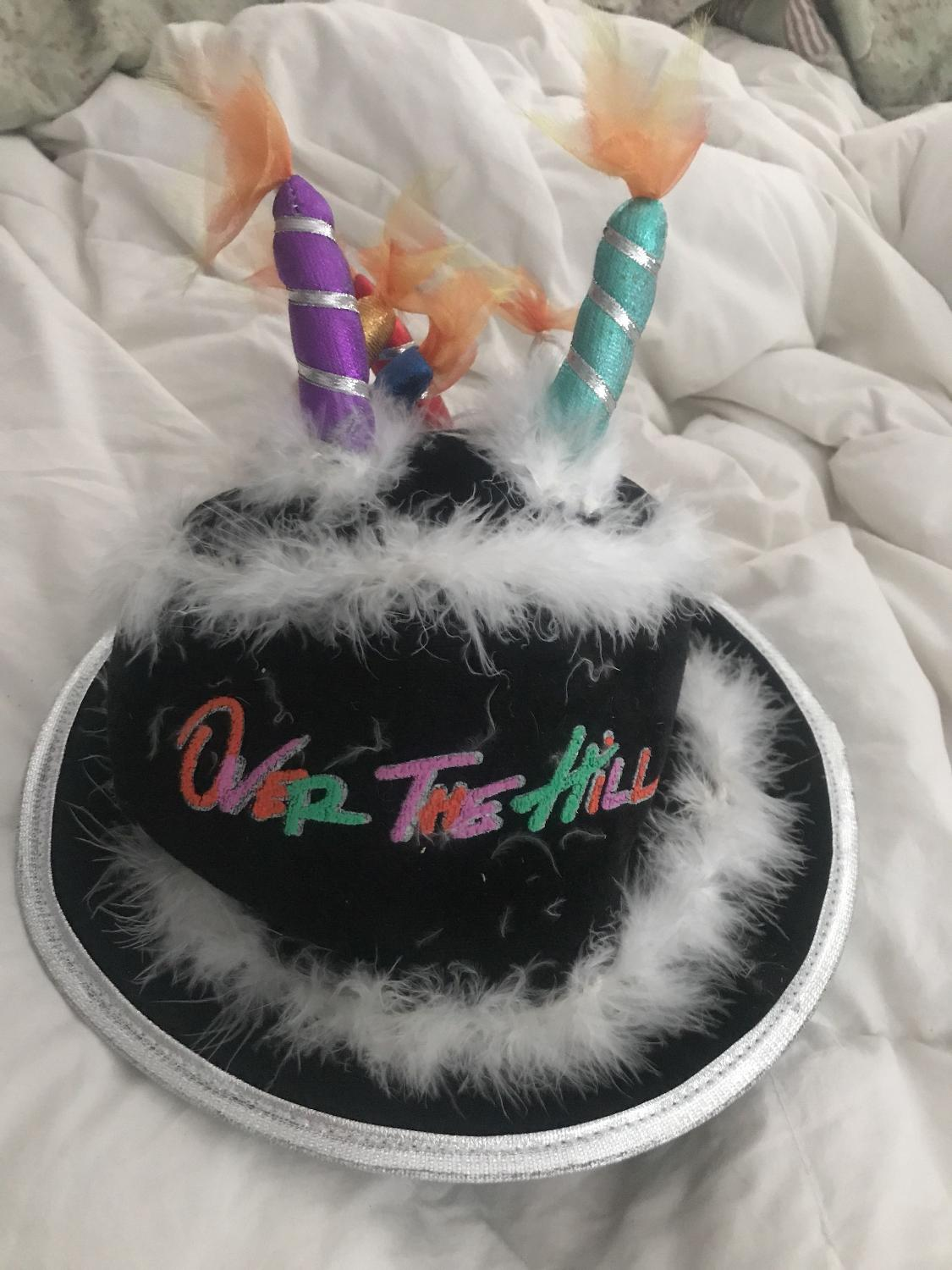 Best Over The Hill Birthday Hat With Candles For Sale In Victoria British Columbia 2019