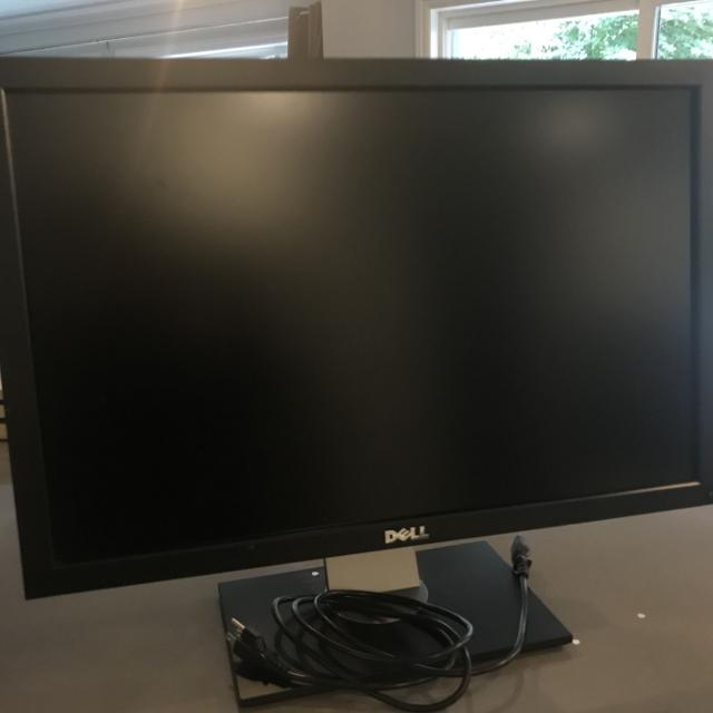 "Find more Free: Large 27"" Dell Monitor - Not Working for sale at up"
