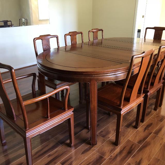 Best Rosewood Dining Table And Chairs