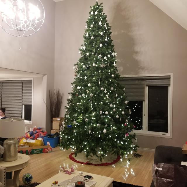 15 foot christmas tree