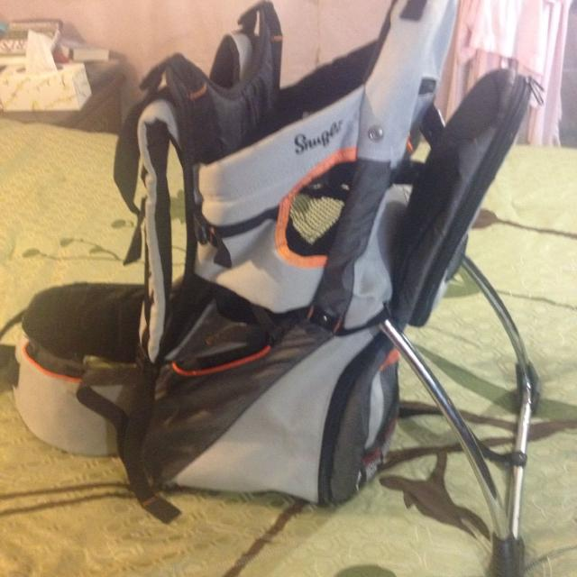 8a3aea950d2 Best Snugli Cross Terrain Backpack Carrier. for sale in Skowhegan ...
