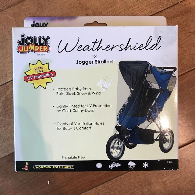 22af32bbfbdb Find more Jolly Jumper Stroller Rain Cover  shield for sale at up to ...