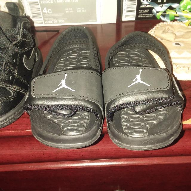 081f4855237b Find more Size 4c Jordan Sandals Great Condition for sale at up to ...