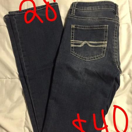 Women's brand name jeans size 28, used for sale  Canada