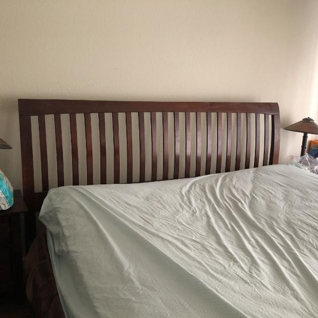 f5c393d07e4 Best Cal King Bed With Mattress Solid Wood . Great Deal! for sale in  Fremont