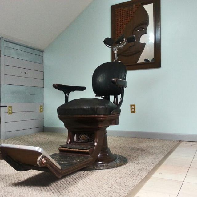 Rare 1902 dentist chair.All original in great condition for its  age.manufacture ss - Best Rare 1902 Dentist Chair.all Original In Great Condition For Its