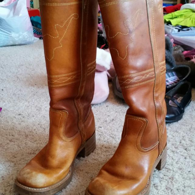 253645e7ad0 Best Vintage Leather Boots - Frye Campus Look Alike - Ladies 6.5 for sale  in Clayton