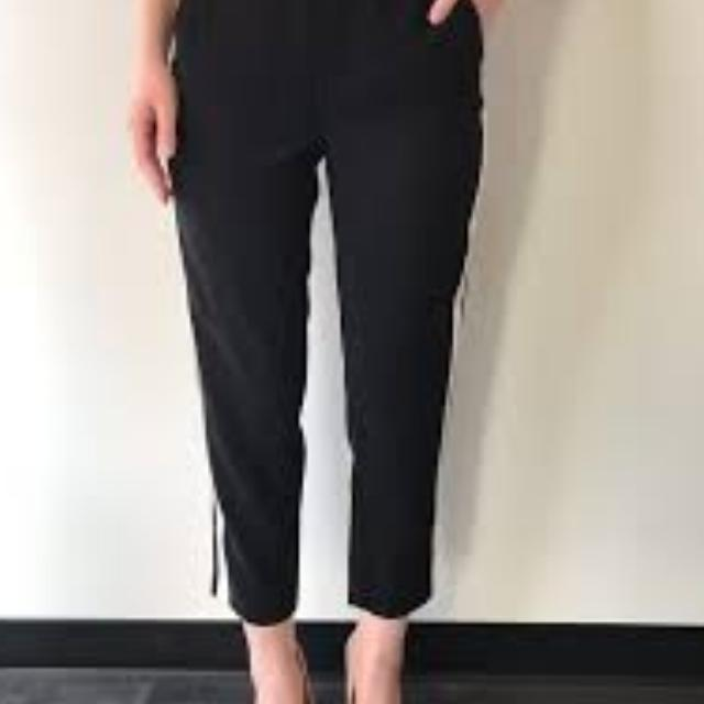 Best Bnwt Dex L Black Ankle Length Dress Pants For Sale In