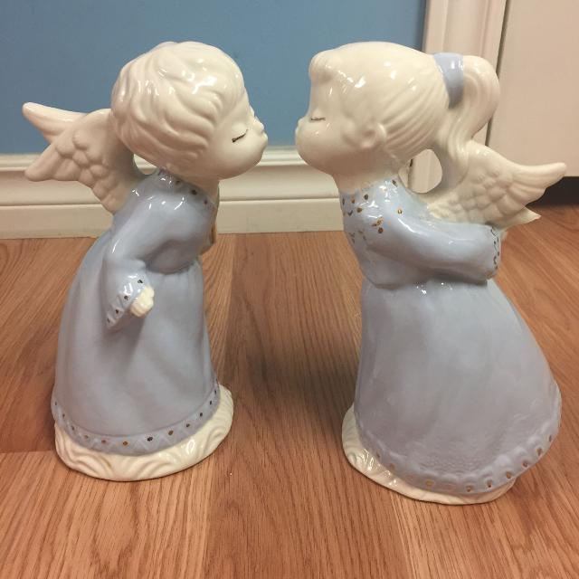 beautiful blue antique christmas angels - Christmas Angels For Sale