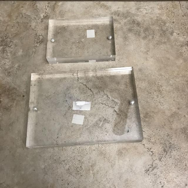 Best Two Clear Plastic Frames For Sale In Port Huron Michigan For 2018