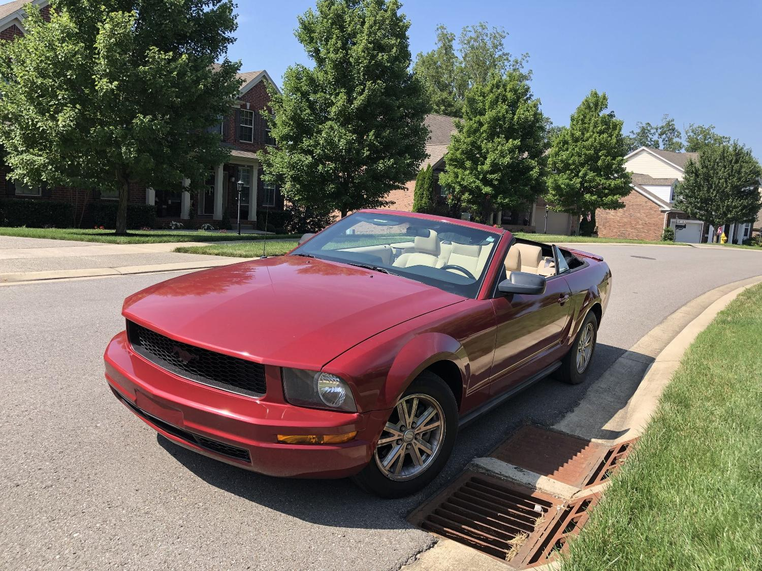 best 2007 ford mustang convertible buy here pay here for sale in hendersonville tennessee for 2019. Black Bedroom Furniture Sets. Home Design Ideas