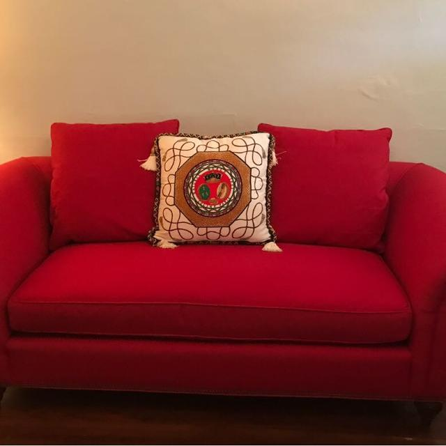 Milling Road Red Sofa