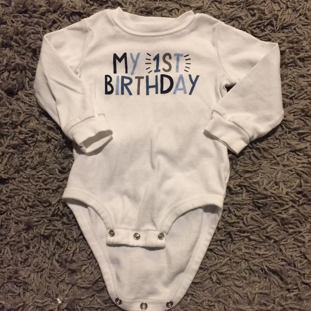 Best My 1st Birthday Shirt For Sale In Keswick Ontario 2019
