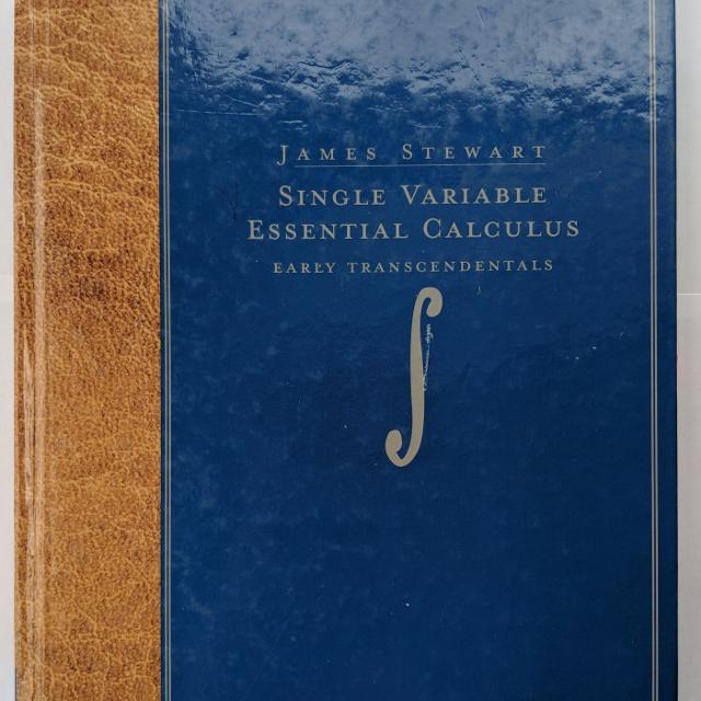 Calculus Textbook - Single Variable Essential Calculus