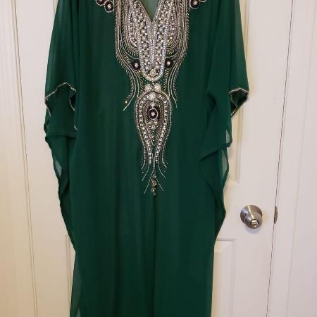 GORGEOUS Green Kaftan for sale  Canada