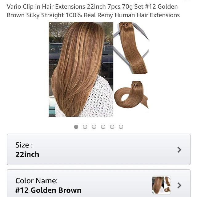 Best Clip In Hair Extension Brand New For Sale In Three Hills