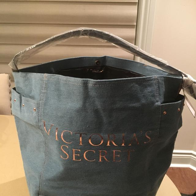 20e4db61d055 ... VICTORIAS SECRET JEAN BAG NWT huge discount 2b24b 078d9  REViSED PRICE  Jackpot Suede Leather Tote ...