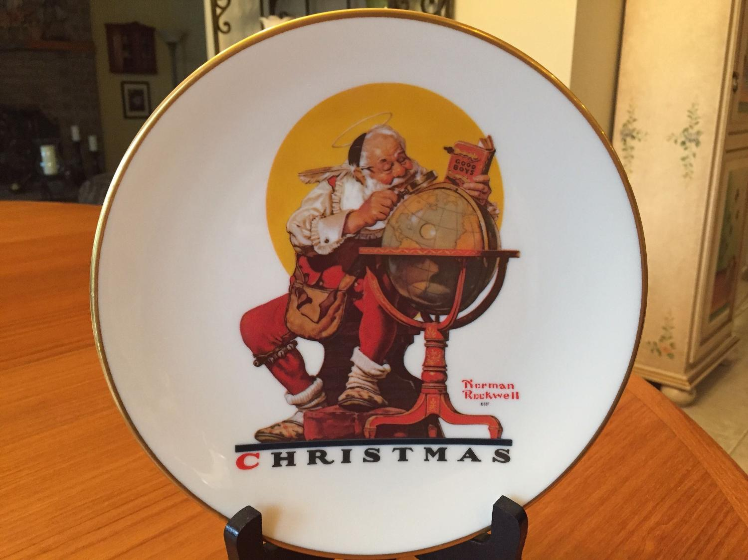 Find more Norman Rockwell Christmas Plate for sale at up to 90% off