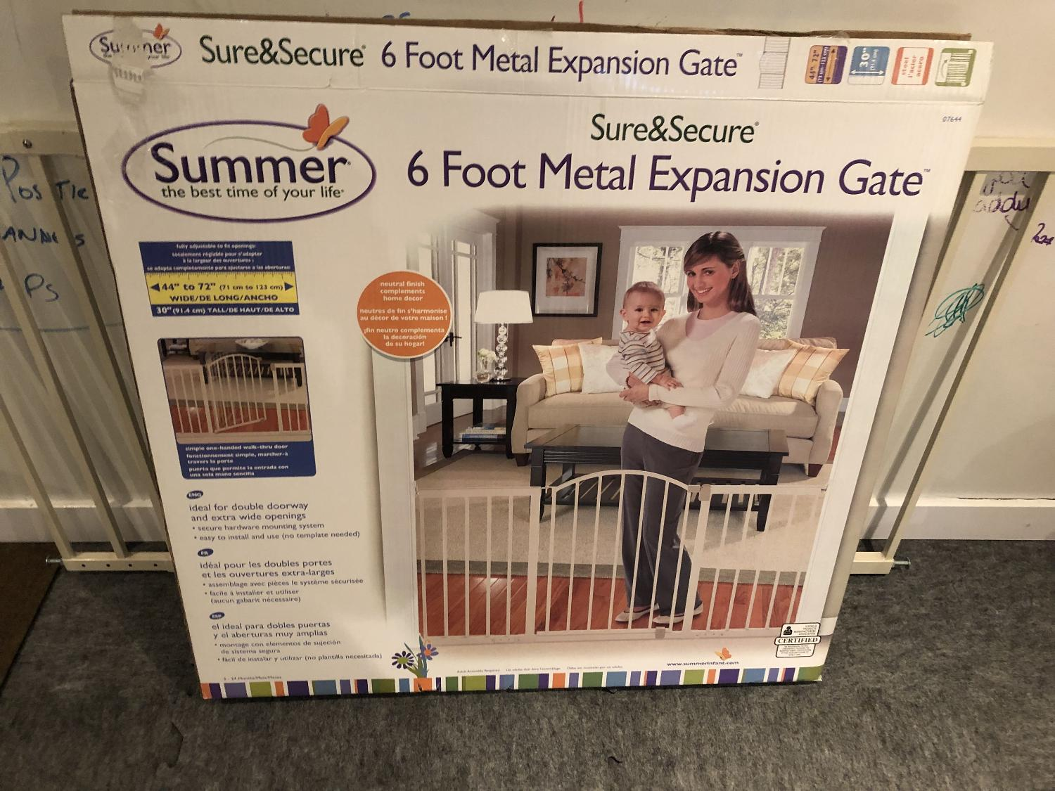 Find More 6 Foot Baby Walk Through Gate For Sale At Up To 90 Off