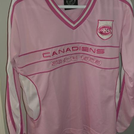 Make me an offer! Habs Jersey size L for sale  Canada