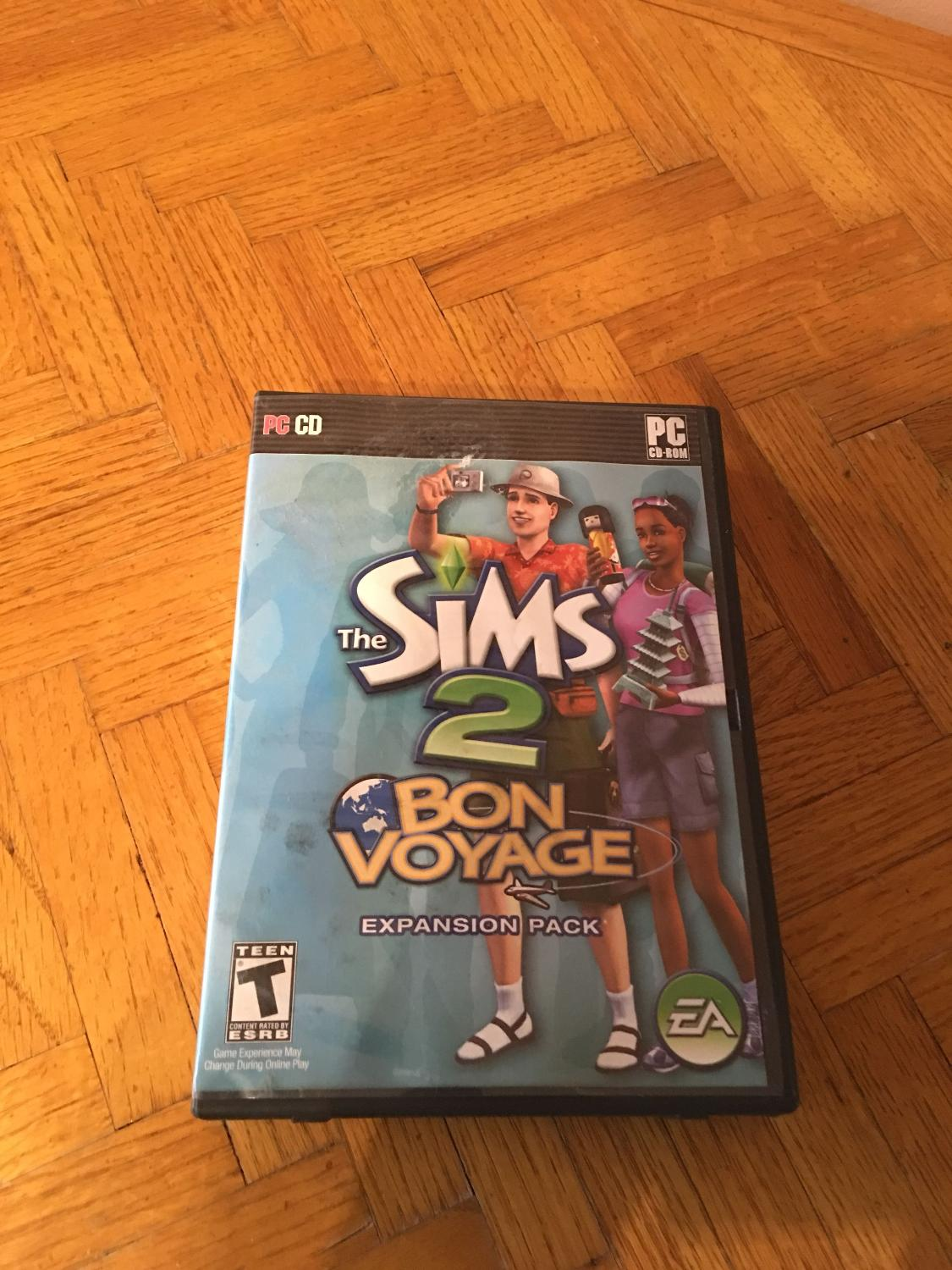 The Sims 2 Bon Voyage Expansion Pack PC CD-Rom