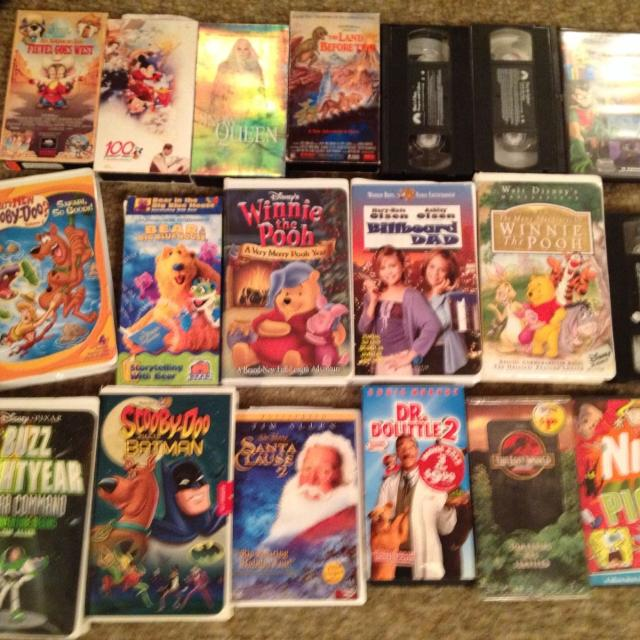 Ebay Houses For Rent: Best Various Kids Movies Vhs And Dvd. For Sale In Oshawa