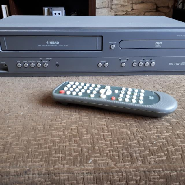 DVD/VCR Combo VHS player