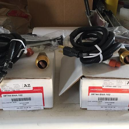 Engine block heater for honda civic ... for sale  Canada