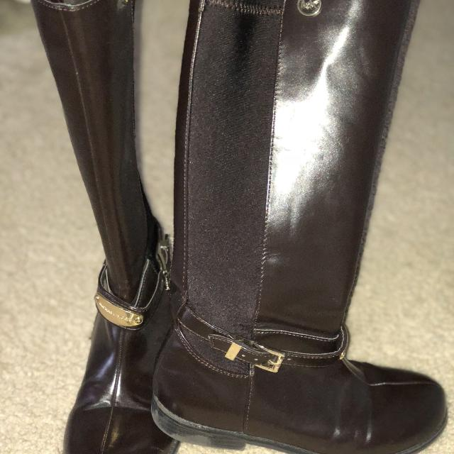 428676f59c5 Best Michael Kors Chocolate Brown Girl Boots for sale in Brazoria County