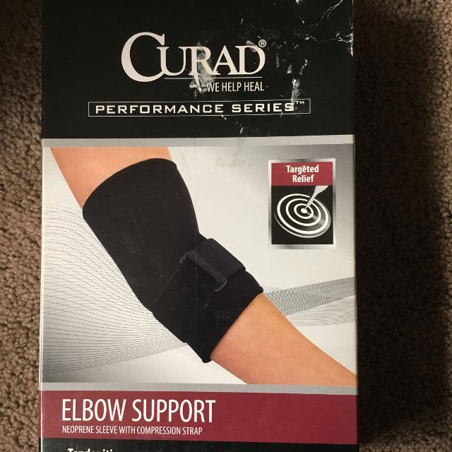 a71682e5c5 Find more Curad Performance Series Xl Elbow Support. New In Box. for ...
