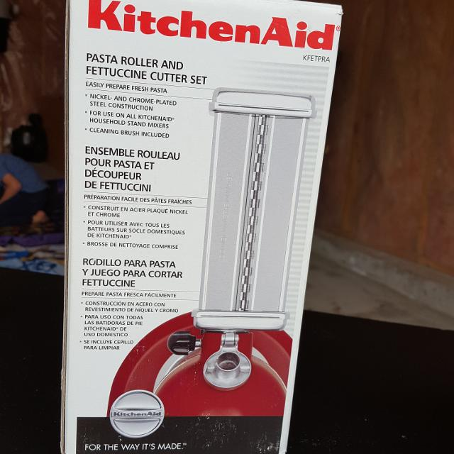 Find More New Kitchen Aid Pasta Maker For Sale At Up To 90 Off