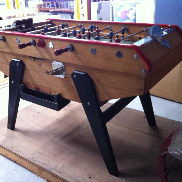 Rene Pierre Foosball Table Modern Coffee Tables And