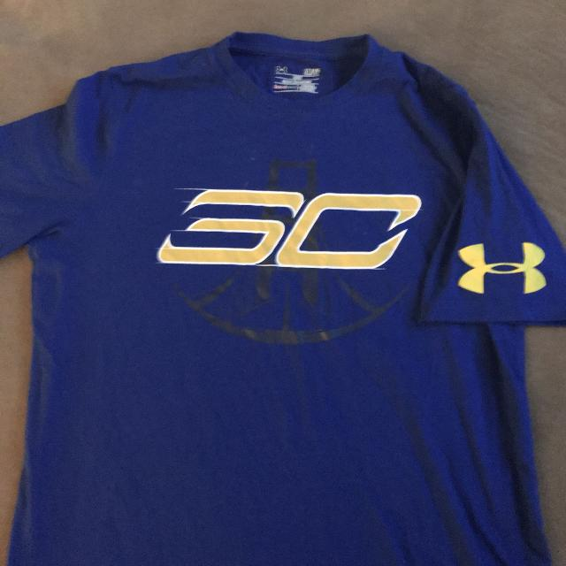 new arrivals 3344a 274fe Under Armor Steph Curry Shirt