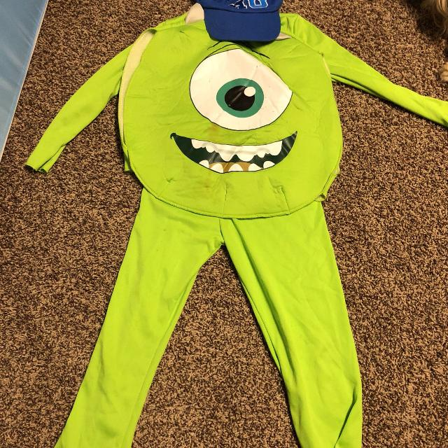 Mike Monsters Inc Costume