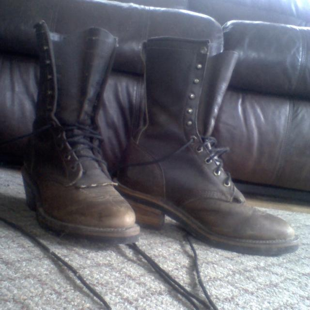 Best Womens Chippewa Boots Size 9 ( Mens 7.5)  75 Firm Pick Up In  Jeffersonville. for sale in Morrisville 533ed4f7aa