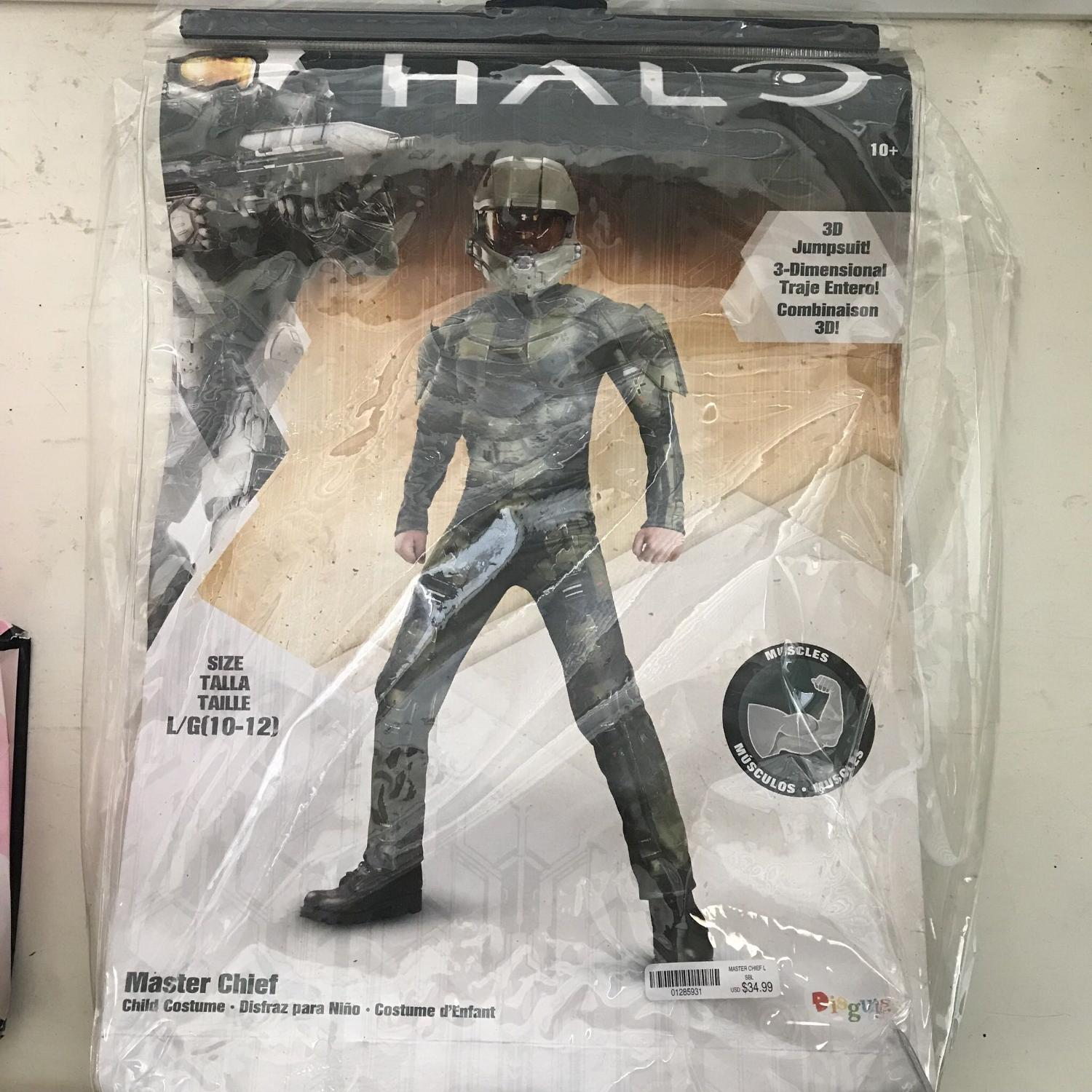 Boys Halo Costume