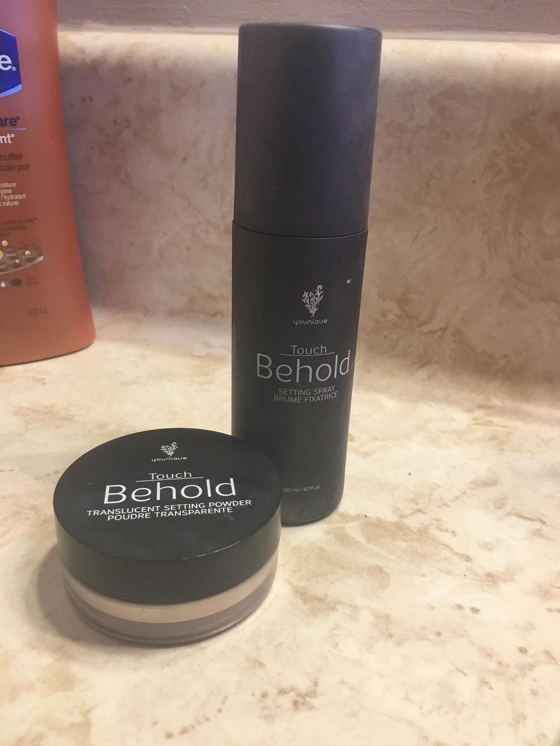 Find More Younique Touch Behold Setting Powder And Spray For Sale At Up To 90 Off