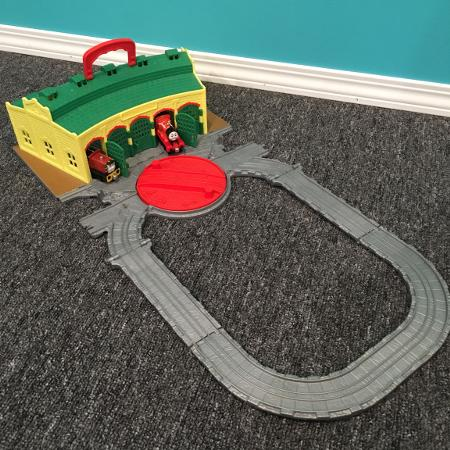 Used, Thomas the train take n play Tidmouth... for sale  Canada