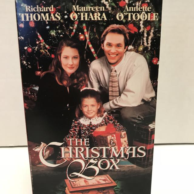 the christmas box movie richard thomas maureen ohara - The Christmas Box Movie