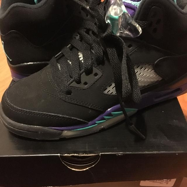 brand new beba0 a34da Best Jordan 5 Retro  black Grape  (gs) for sale in Calgary, Alberta for 2019
