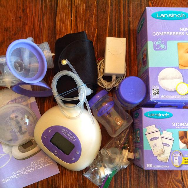 Find More Lansinoh Signature Pro Double Electric Breast Pump Euc