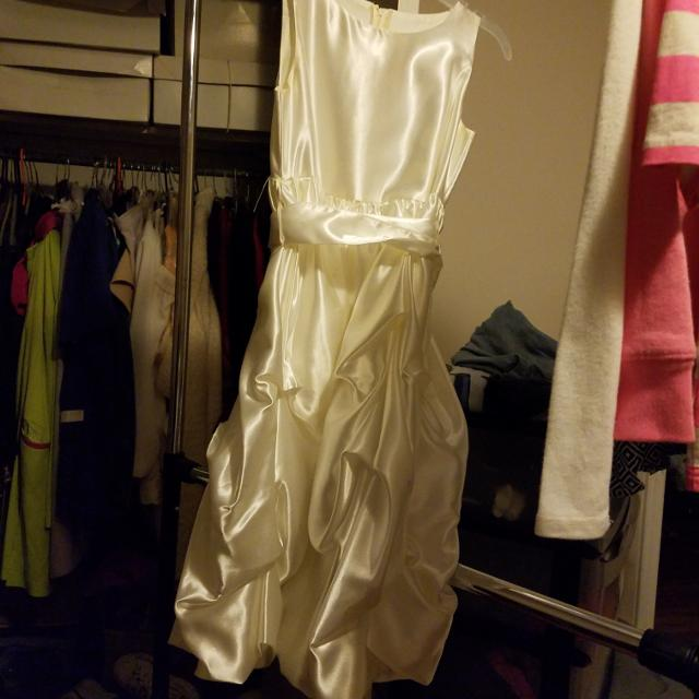 Creme Color Dress
