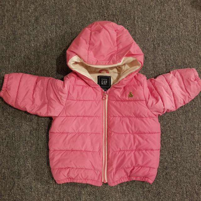 7d307f345 Find more Pink Baby Gap Winter Jacket for sale at up to 90% off ...