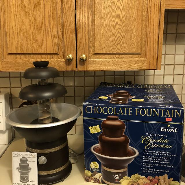 Find More Euc Rival Chocolate Fountain For Sale At Up To 90 Off
