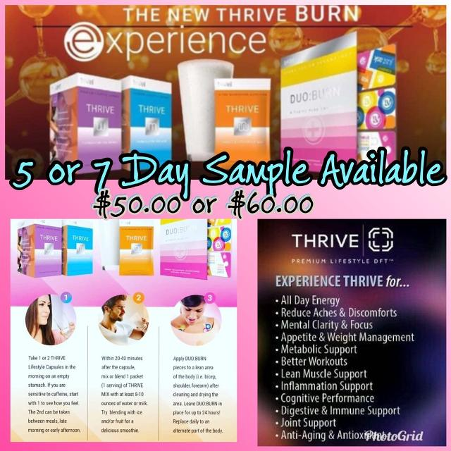 Best Price Drop Le Vel Thrive Samples For Sale In Oshawa Ontario
