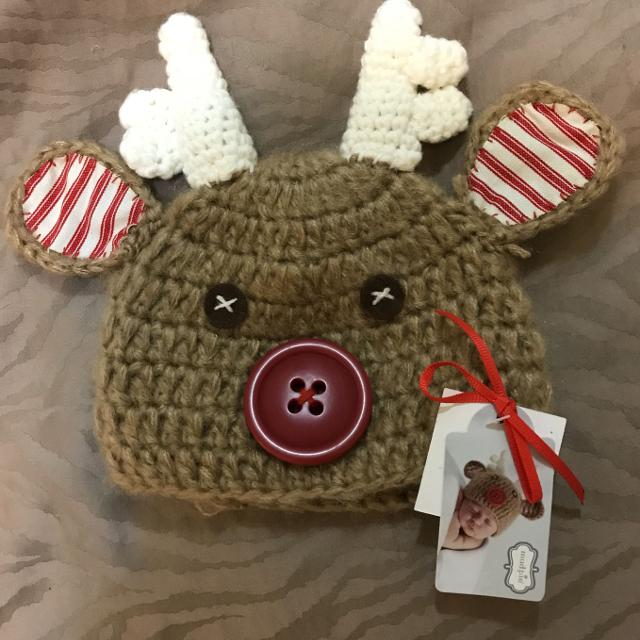 8e05f39c8a109 Best New Baby Reindeer Hat for sale in Victoria